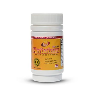 Herbalean Weight Loss Pills Bottle