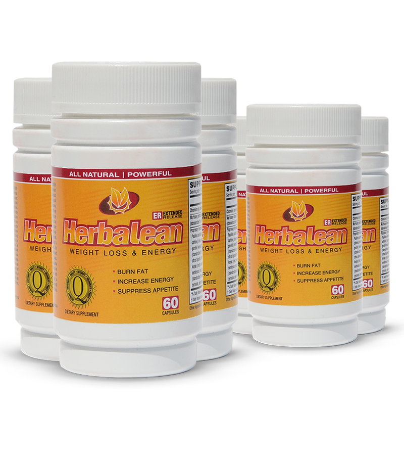 Herbalean Herbal Weight Loss Supplement Complex • 6 Bottle ...