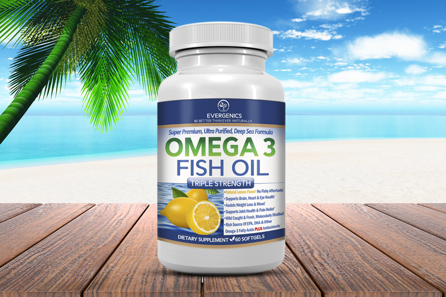Great for Weight Loss! Super Premium Omega 3 Fish Oil
