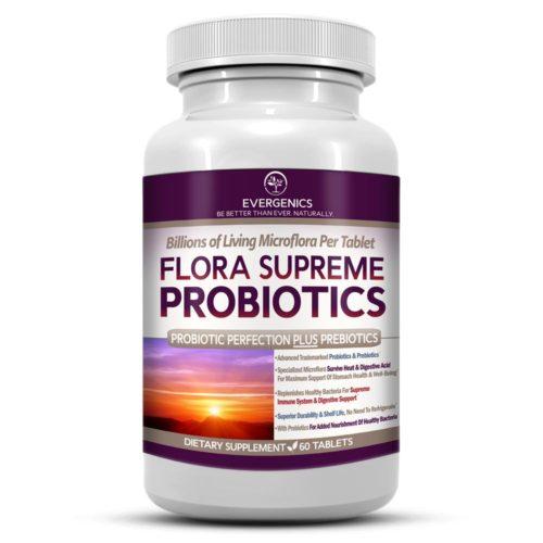 Flora Supreme Probiotics with Prebiotics