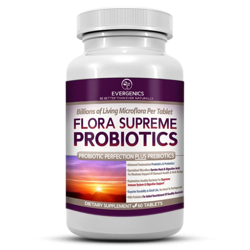 Flora Supreme Probiotics with Prebiotics
