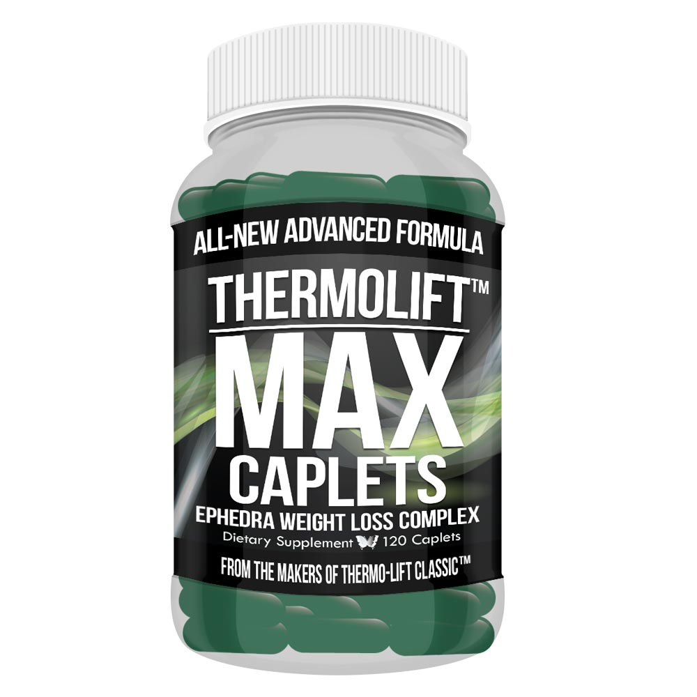 Thermolift Max Caplets Maximum Strength Weight Loss Energy Complex