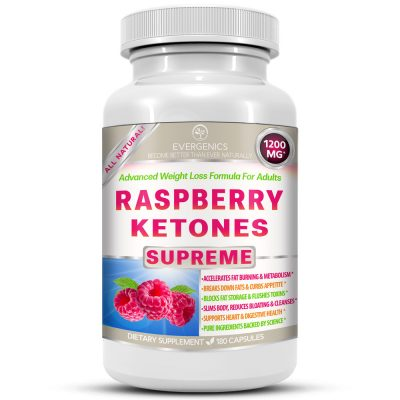 Raspberry Ketones Supreme Weight Loss Formula Bottle