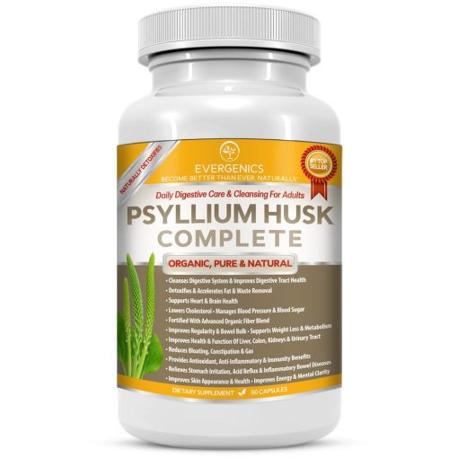 Psyllium Husk Complete Organic Daily Detox and Cleanse
