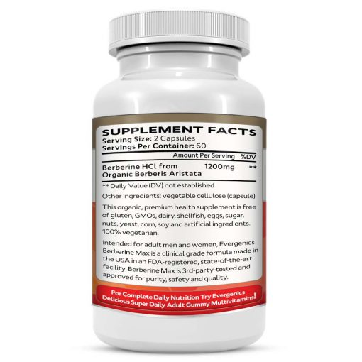 Berberine Supplement Facts