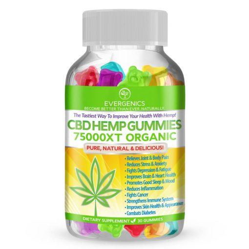 CBD Hemp Gummies Bottle