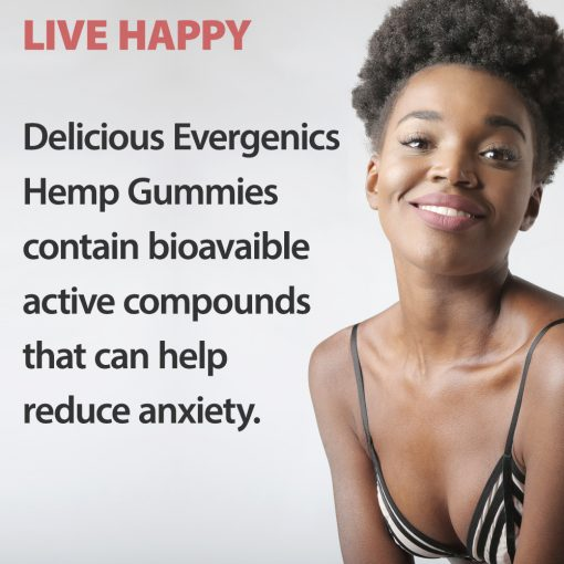 CBD helps woman beat stress and anxiety