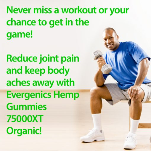 Man keeps joints feeling great with CBD